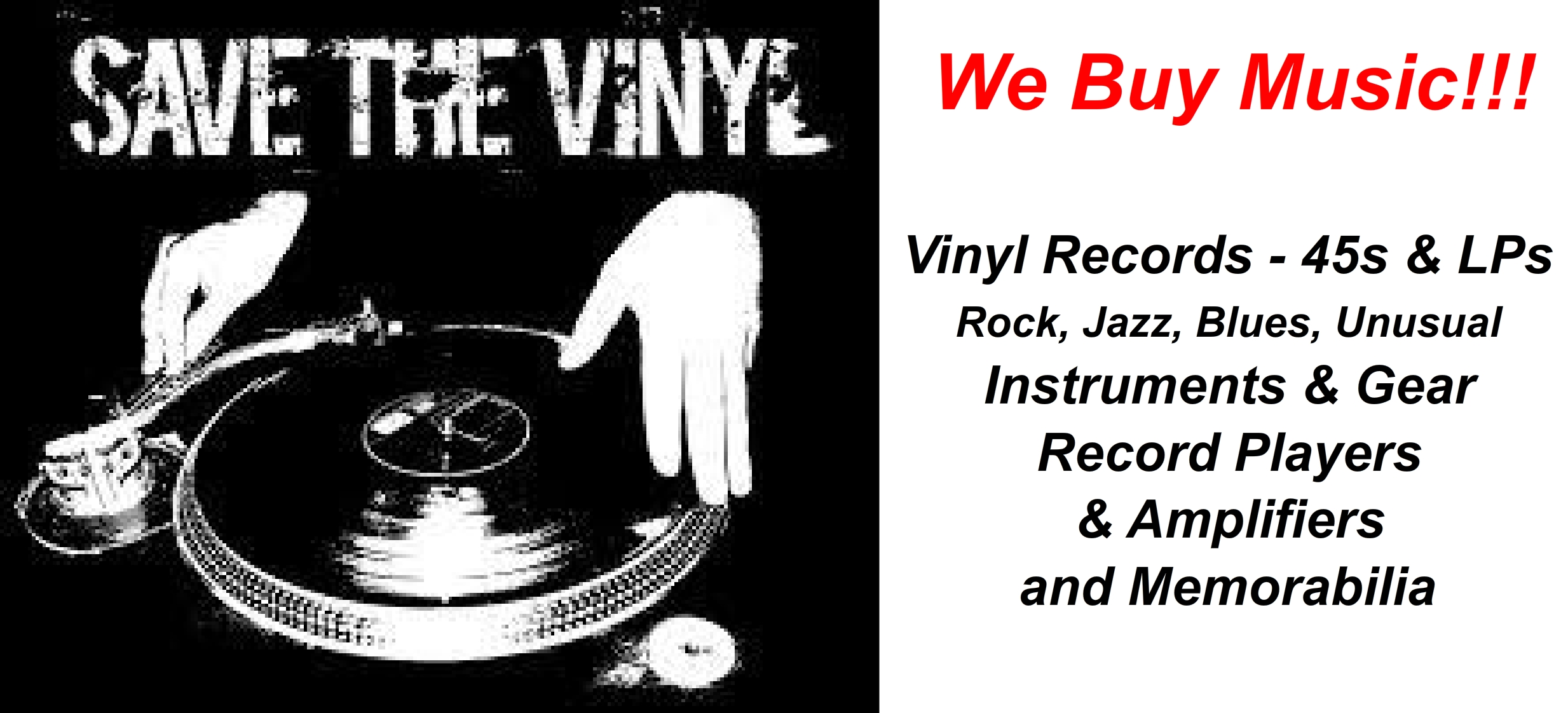 Vinyl Records, Equipment, Memorabilia